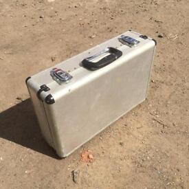Metal carry case heavy duty toolboc