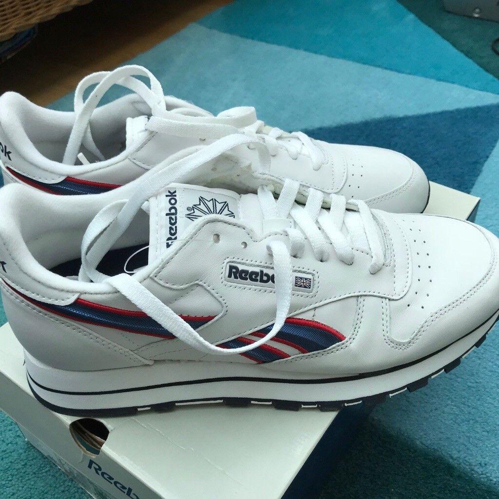 45f8580784a 2 pair size 9 Reebok Classic Trainers. 1 pr BNIB   1 pr used