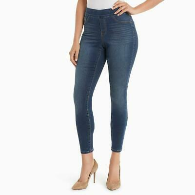 NWT Women's Nine West Jeans Pull On Skinny Crop Augustine Denim Heidi Pant Sz (Augustine On Women)