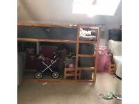 2 IKEA KURA beds - used