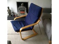 2 IKEA Poang Rocking Chairs