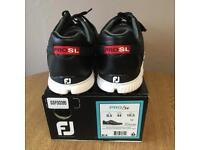 FOOTJOY 'PRO SL' Spikeless Golf shoes -UK 9.5 -BRAND NEW !