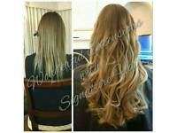 HAIR EXTENSIONS ESSEX, NO DEPOSIT ALL COLOURS IN STOCK, FLEXIBLE HOURS, CREDIT CARDS ACCEPTED