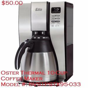 Various Oster Breville Braun Timo Coffee Maker View All Pics Inside