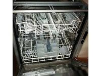 full size semi integrated dishwasher in vgc can deliver