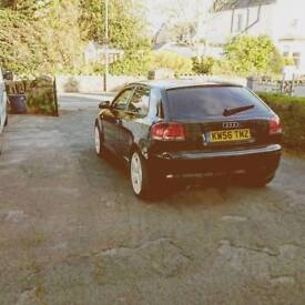 AUDI A3 great looking car.. Had loads done to it rebuilt
