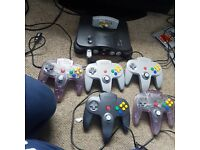Nintendo N64 x2 with 22 games and Gamecube. Retro gaming
