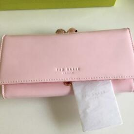 Original baby pink ted baker purse