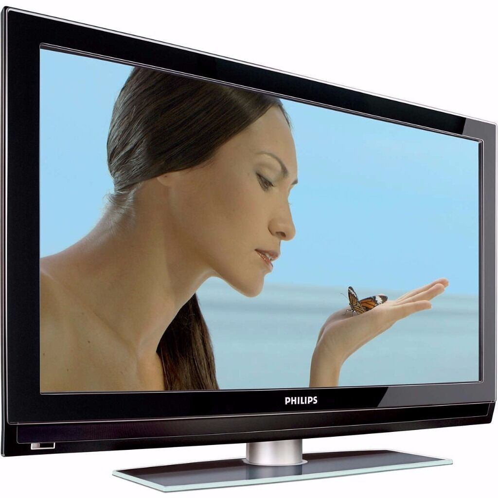 Philips 42 Inch Hd Tv Screen Flat Lcd Television Freeview Built In
