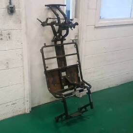 Mobility scooter chassis (charity sale) read description