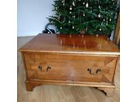 Wooden Tv Unit with Storage