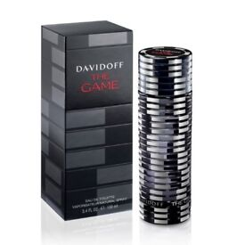 Davidoff The Game For Him/Men 100ml ON DISCOUNT, ORIGINAL, BRAND NEW, 100% GENUINE.