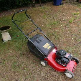 Champion 3.5hp petrol lawnmower