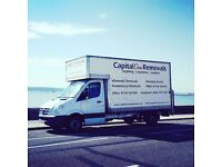 Man and Van Service from £24ph-Single Item drop off/Home Removals/Office Moves/Clearance