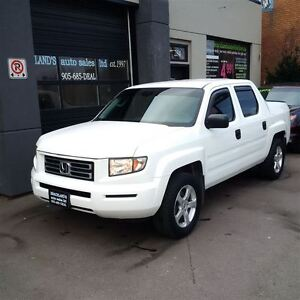 2007 Honda Ridgeline LX 4WD, HIGH KMS BUT YOU'D NEVER KNOW IT!