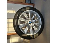 BMW winter run flat tyers and wheels