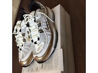 Nike Air Max 98 White/Gold GMT Brand New with Receipts