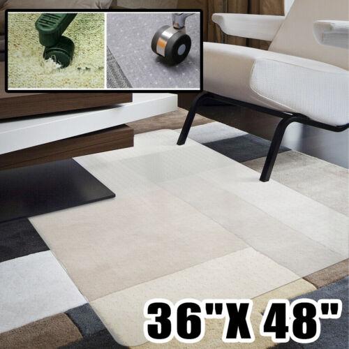 "48X36""PVC Protector Hard Carpet /Hard Wood Floor Chair Mat F"