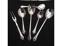 Reed & Barton mixed silver cutlery set