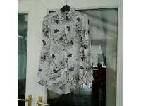 Ladies Size 10 Sheer Shirt