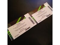 PLACEBO TICKETS TWO STANDING WEMBLEY THURSDAY 15TH DECEMBER 2016