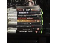Xbox 360 and 28 games for sale