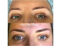 Semi permanent microblading eyebrows February offer £150