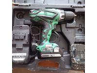 Hitachi Combi Drill 18v li-ion DV18 DGL