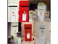 Hire one of our stunning Vintage Cast Iron Post Boxes £35 for a 3 to 4 day hire