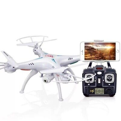 Syma X5SW-V3 Explorers 2.4G RC Headless Quadcopter Drone w/ HD Wifi Camera White
