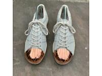 Adidas metal toe trainers size 6