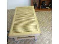 Solid wood heavy benches