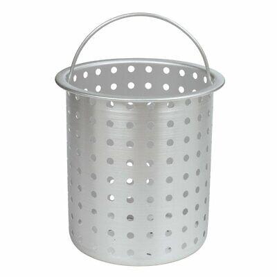 Bayou Classic B300 Aluminum Perforated Turkey Fryer Basket, 30 Qt