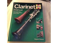 Clarinet Haynes Manual. Brand new