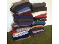 38x mens jumpers, medium to large in size, all good brands, used but in clean, excellent condition