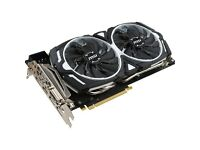2 x MSI GTX 1070 ARMOR OC 8GB - £335/each.