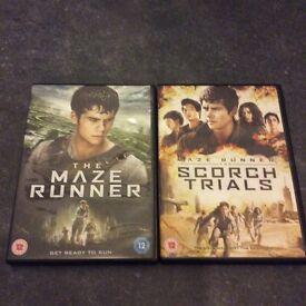 Maze runner 1&2