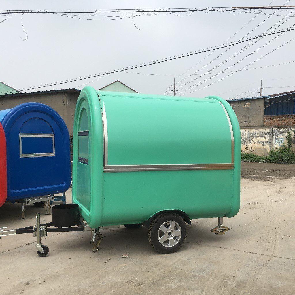 Mobile Catering Trailer Burger Van Hot Dog Ice Cream Food Cart 2300x1650x2300