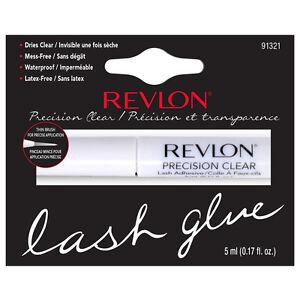 Revlon Precision Eyelash Glue Brush-On Lash Adhesive - WHITE / CLEAR