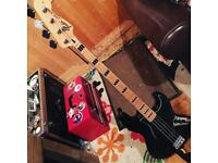 Fender (squier) vintage modified jazz bass