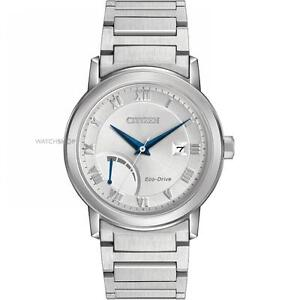 Citizen Mens Eco-Drive Dress Quartz Stainless Steel Casual Wa  AW7020-51A