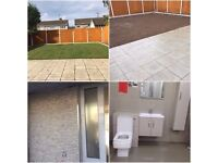 Garden service, Painting & Decoration, Paving & Driveway, plustering, Tilling & laminate flooring