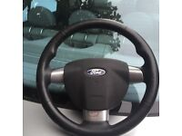 Ford Focus ST steering wheel with airbag