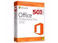 MICROSOFT OFFICE PROFESSIONAL PLUS 2016 32 / 64BIT GENUINE LICENSE KEY - LIFETIME ACTIVATION SALE