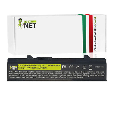 Batteria per Dell Latitude E5410 , Latitude E5510 10.8/11.1V 5200mAh 0898
