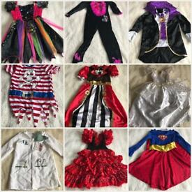 Fancy dress bundle 5-8y great condition