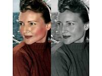 Photo Restoration and Colourisation