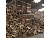 FULLY SEASONED HARDWOOD LOGS - KINDLING FIREWOOD - LOG NETS - FREE DELIVERY WITHIN 20 MILES DY7