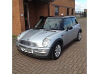 MINI COOPER (51) SERVICE HISTORY, HPICLEAR,SENSIBLE MILES.