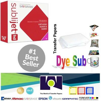 Sawgrass Virtuoso Sublimation Ink Cartridge Sg400sg800 Magenta100sh Sublipaper